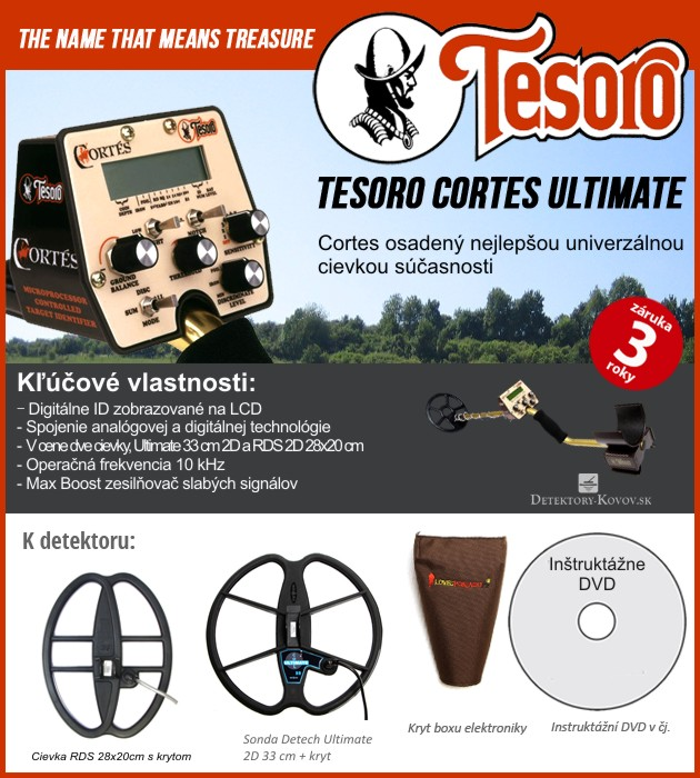 Tesoro Cortes ULTIMATE RDS