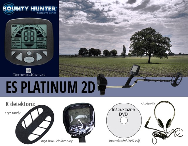 Bounty Hunter ES Platinum 2D