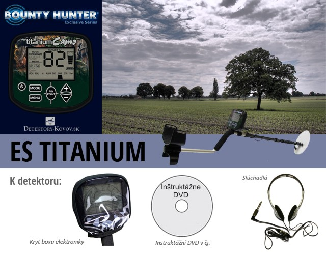 Bounty Hunter ES Titanium