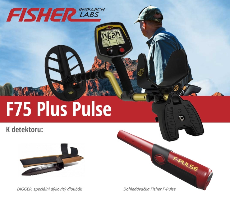 Fisher F75 V2 Plus Pulse
