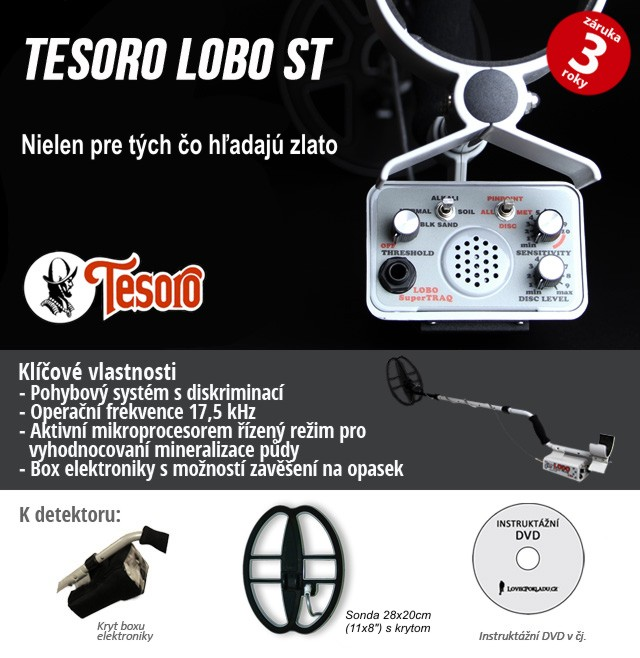 Tesoro Lobo SUPERTRAQ