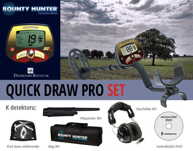 Bounty Hunter Quick Draw Pro SET