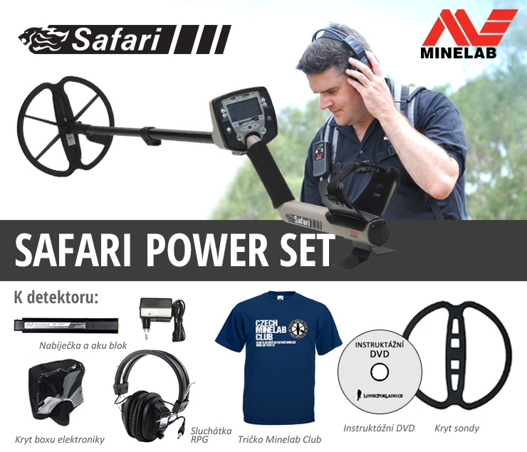 Minelab Safari Power Set