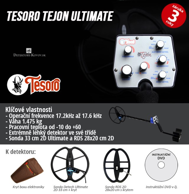 Tesoro Tejon Ultimate RDS